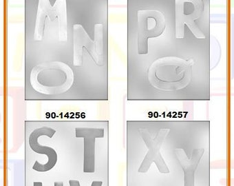 Letters Chocolate Molds (C)