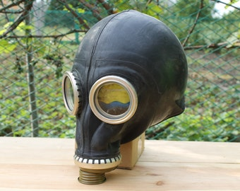 gas mask (only mask) ... vintage soviet army gas mask ... Halloween ... military ... gothik ... USSR ... Russian ... punk