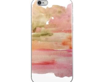 Art Phone Case, iphone 7/8, 6 Plus/6s Plus, 6/6s, iphone 7 Plus/8 Plus, modern abstract iPhone X, artsy iphone case, watercolor phone case