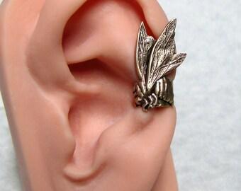 Steampunk Honey Bee Ear cuff