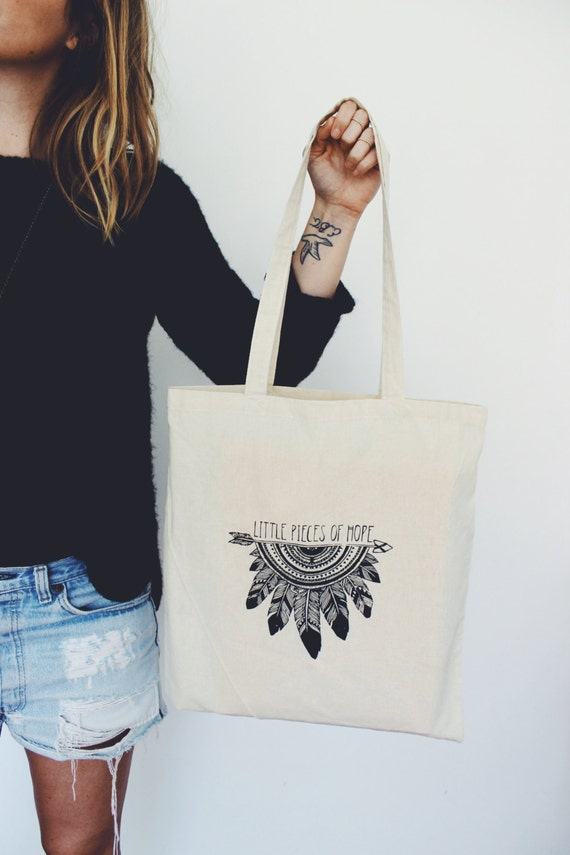 Little Pieces of Hope Tote Bag