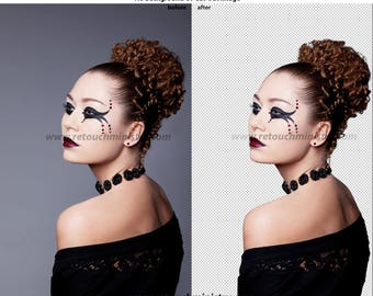 Remove Background (model or Portrait),Cut out,White background,Clipping Path,Photo Editing,Background Removal,No Background