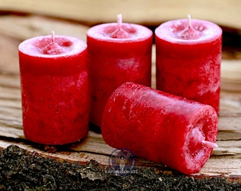 Dragon's Fire Votive Candle - For vitality, passion, & manifestation