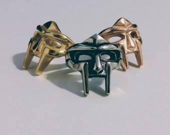 MF DOOM Mask Ring