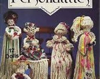 Lot of 4 Instruction Booklets for Making Mop Dolls, Vintage 1990