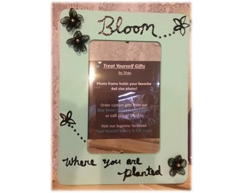 Bloom Where You Are Planted Frame