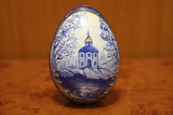 Easter eggwooden egg gifts church gifts church like this item negle Images