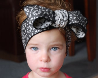 Topwrap hairband  two-pack