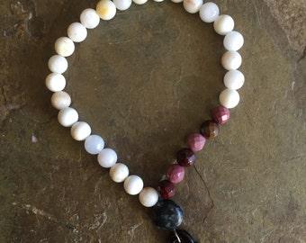 Ruby Arrow Bracelet