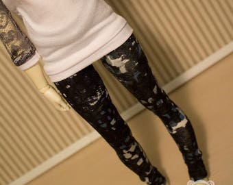 Mosaic legging for minifee and slim msd