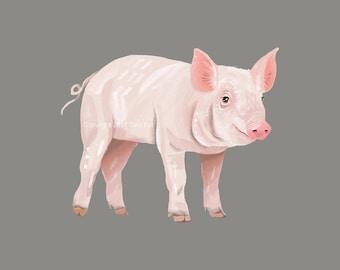 This Little Piggy - Print
