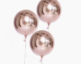 Metallic Balloons Orb 16 inch