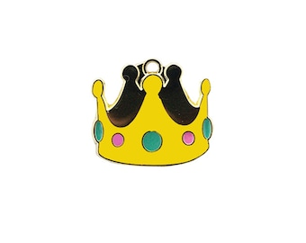 Fun Personalized Dog ID Pet Tag for Dogs  - Crown Pet Tag