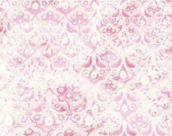 In The Beginning - Bohemian Manor 2  Fabric - By Jason Yenter - Rose - 9JYF 1 - Sold by the Yard