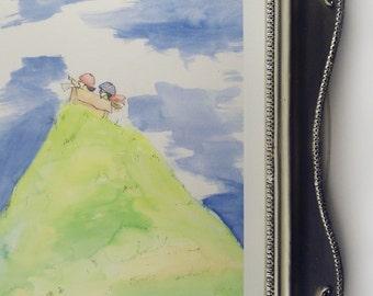 We Are Adventurers Art Print