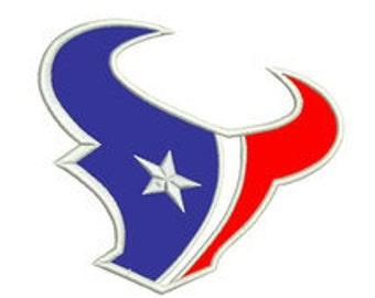Texans Applique Design Instant Download