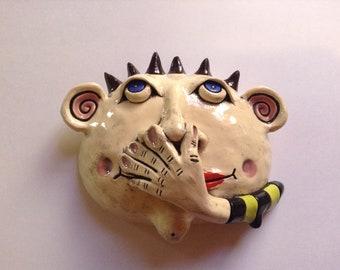 Pewy Lewy Ceramic Head