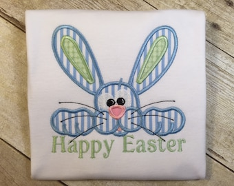 Easter Bunny-Blue Children's T-Shirt