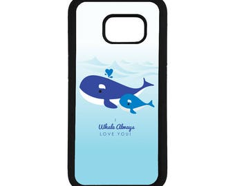 "Mother's Day ""I Whale Always Love You"" Inspired Samsung Galaxy S6 / S7 / S7 Edge Case"