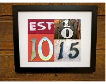 Baby name sign w meaning customized framed nursery art