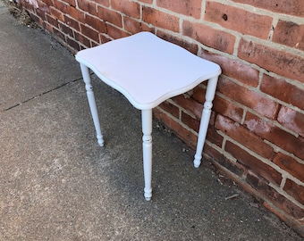 Shabby Chic Table Gray Distressed