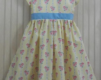 "ON SALE! Girl and matching 18"" doll dress -- size 8"