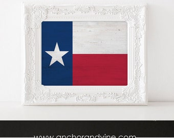DIGITAL DOWNLOAD // Texas State Flag