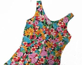 Bold Floral Summer Playsuit