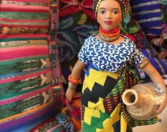 Kwanzaa / African festival doll