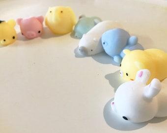 Adorable Kawaii Squishy Mochi Healing Stress Relief Toys