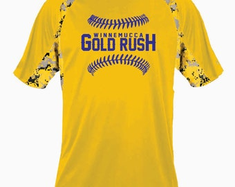 YOUTH - Winnemucca Gold Rush Digital Hook Tee - 2140