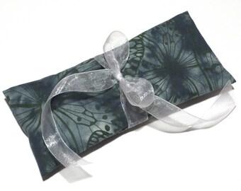 Eucalyptus Mint Eye Pillow / Yoga Eye Pillow / Flax Seed Eye Pillow / Aromatherapy Eye Pillow / Herbal Eye Pillow / Relaxation Eye Pillow