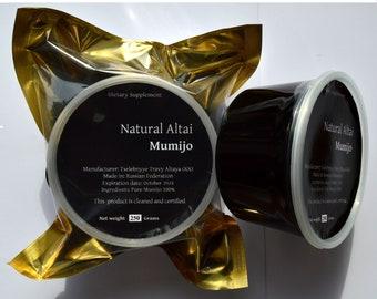 Authentic Altai Shilajit Paste 2.2 lb (1 Kilograms) Pure Mumijo, Mumie, Mumio. SALE. Made in Altai Region of Russian Federation