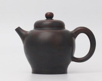 220ml Handmade Baoping Teapot by Zhou Yujiao