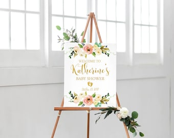 Popular Items For Baby Shower Sign