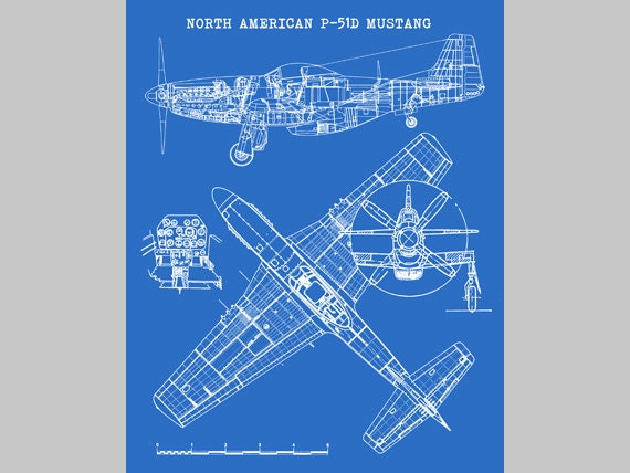 P51 mustang aircraft blueprint instant download north p51 mustang aircraft blueprint instant download north american mustang p 51 mustang decor p 51 mustang art aviation art 8x10 11x14 malvernweather Choice Image