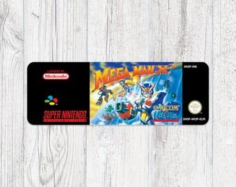SNES Sticker: Mega Man X 3