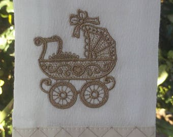 Diaper/Mouth Baby stroller