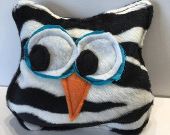 Zebra Owl heating pack