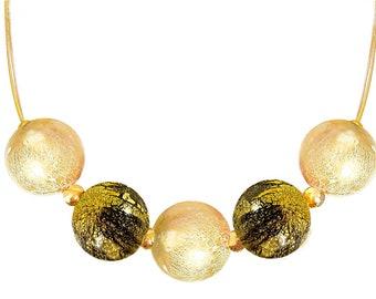 Murano Blown Glass Necklace 'Elena' by I Love Murano, Murano Glass Necklace, Blown Glass Necklace, Murano Glass Jewelry, Murano Blown Glass