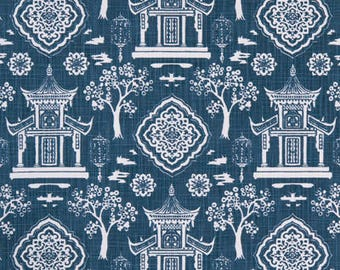"Premier Prints Fabric-SPIRIT-Regal Navy-Or Choice of Colors-Fabric By The Yard-54"" wide-Canvas Slub-Decorator fabric"