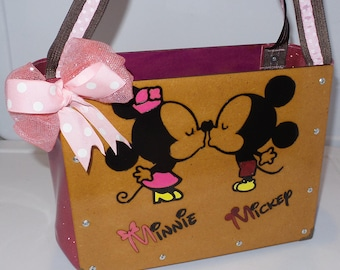 Minnie and Mickey Mouse Bag