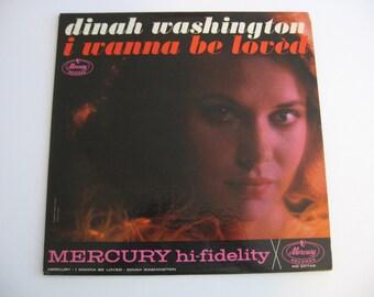 Dinah Washington - I Wanna Be Loved - Circa 1962