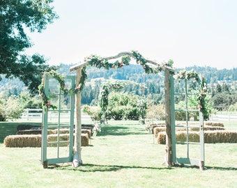 Driftwood Arbor - Three Piece