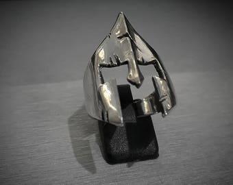 """Spartan ring king Leonidas """"battle helmet"""""""