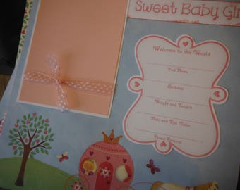 20  Baby Girl Princess 12x12 Premade Scrapbook Pages for your family