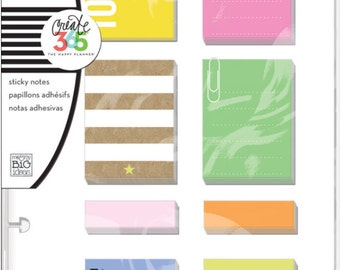 Create 365 Sticky Notes, The Happy Planner Sticky Notes, Planner Decoration, Sticky Notes, Planner Organization, Paper Crafting, Scrapbook