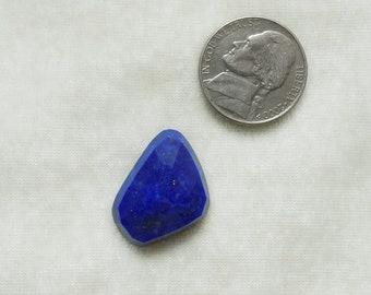 1pc Natural LAPIS LAZULI UNEVEN rosecut nice quality Uneven shape lapis lazuli fancy rosecut gemstone best discount deal blue lapis lazuli