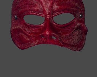 Leather Mask | Leather Harlequin