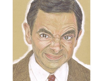 Signed and Numbered Fine Art Print - Mr. Bean